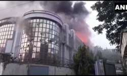 Fire breaks out at office complex in Noida' Sector 59