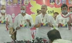 Lok Janshakti Party chief Chirag Paswan releases manifesto
