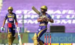 KKR batsman Rahul Tripathi