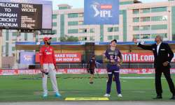 Live Score Kolkata Knight Riders vs Kings XI Punjab IPL 2020: Rahul opts to bowl against KKR