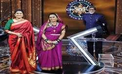 KBC 12: Reunuka Shahane participates in Amitabh Bachchan's show with Chhattisgarh's Phoolbasan Yadav