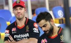 AB de Villiers and Virat Kohli