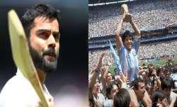 Virat Kohli and Diego Maradona