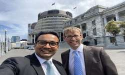 New Zealand, Dr Gaurav Sharma, Sanskrit, MP