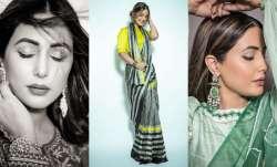 Hina Khan's Indian avatar