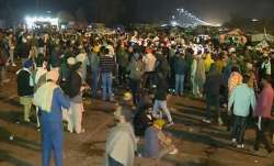 Farmers on Delhi march defy water cannons, teargas in