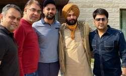 Kapil Sharma enjoys 'paranthas' with Navjot Singh Sidhu in Amritsar