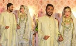 FIRST PHOTOS from Gauahar Khan and Zaid Darbar's nikah ceremony