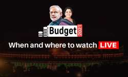 Budget 2021, Nirmala Sitharaman, where to watch LIVE