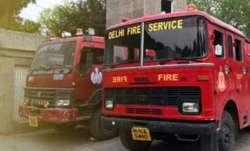 delhi guest house fire