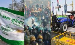 Farmers' tractor rally protests reach Red Fort on Republic