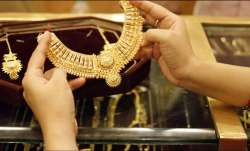 Gold Rate Today: Gold prices fall to ₹49,122/10 gram; silver slips to ₹66,000/kg