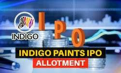 Indigo Paints IPO allotment, indigo paints share, indigo paints grey market premium