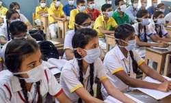 Haryana schools reopening, haryana schools classes 6 to 8 reopening, haryana schools opening,