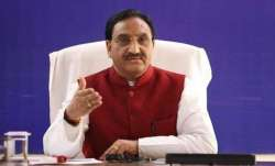 Union Education Minister Ramesh Pokhriyal 'Nishank'