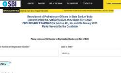 SBI PO Prelims Result 2020 declared. Direct link to download