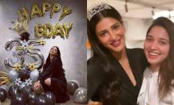 Happy Birthday Shruti Haasan: Actress rings in Birthday cheer with BFF Tamannaah Bhatia; check pics