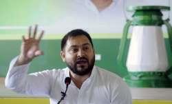 Bihar Police looking for scapegoat in Rupesh murder case: Tejashwi Yadav