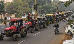 tractor march, farmers, Farm laws