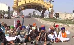 Chakka Jam: Farmers in Punjab, Haryana block national,
