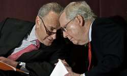 US Senate Majority Leader Chuck Schumer