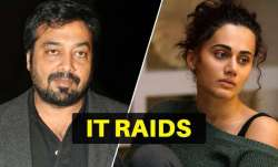 IT raids were conducted at the premises of Anurag Kashyap,