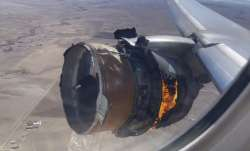 Exam finds multiple cracks in part of United jet's engine