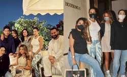 Kareena Kapoor, Saif Ali Khan pose with Malaika, Karisma & others