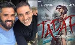 Tadap: Suniel Shetty's son Ahaan all set for debut opposite Tara Sutaria, Akshay Kumar shares first