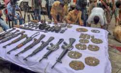 Chirang, Assam, arms, ammunition, recovery of arms and ammunition, National Liberation Front of Bodo