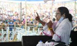 West bengal Chief Minister Mamata Banerjee address during