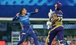 rahul chahar, rahul chahar mi, mumbai indians, rahul chahar bowling, mi vs kkr, kolkata knight rider