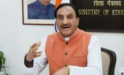 Union Education Minister Ramesh Pokhriyal Nishank tests
