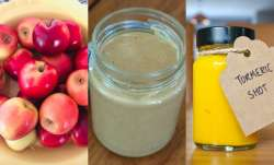 Foods beneficial for lungs: Apples, Yogurt to Haldi, eat these items to protect lungs and reduce dam