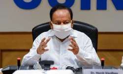 harsh vardhan meeting, vaccine drive
