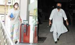 Janhvi-Boney Kapoor visit Hinduja Hospital where A