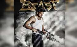 Vijay's 'Thalapathy 65' titled 'Beast' FIRST LOOK poster out ahead of his birthday