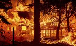 California largest wildfire, California largest wildfire photos videos, houses destroyed California