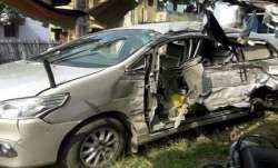UP news, UP latest news, ADJ accident, ADJ Fatehpur accident, ADJ Fatehpur car accident, Fatehpur AD