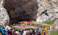 Amarnath cave cloudburst, Amarnath cloudburst, cloudburst amarnath pilgrims,