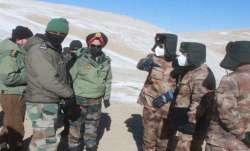 India china talks, military talks