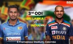 Live Score Sri Lanka vs India 3rd ODI: Live Updates from Colombo