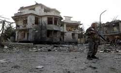 8 killed, 20 injured in car blast near Afghan defence