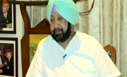 Amarinder Singh slams Navjot Singh Sidhu.