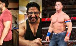 John Cena shares Arshad Warsi's body transformation pic, fans say 'WWE wrestler is Indian'