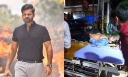 Sai Dharam Tej injured in road accident