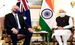 PM Modi meets Australian counterpart Scott Morrison in