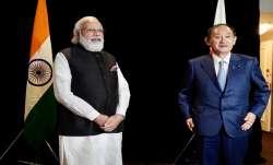 PM Modi meets Japanese Prime Minister Yoshihide Suga in