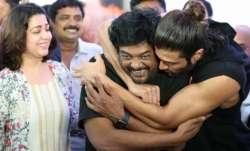 Vijay Deverakonda celebrates Liger director Puri Jagannadh birthday