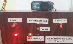 IPS officer develops unique Wi-Fi based home security device